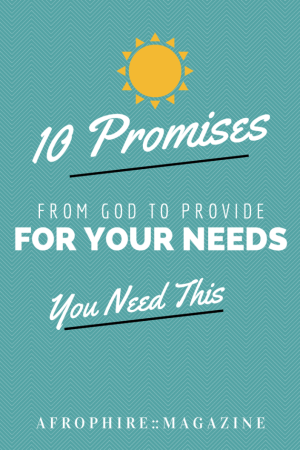 10 Promises of Provision From God